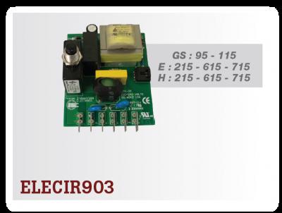 Elektronika vysávača CycloVac - ON/OFF, ELECIR903