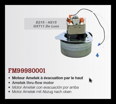 motor pre H215, E215, GX711