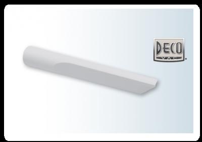 Nástavec DECO štrbinový sivý