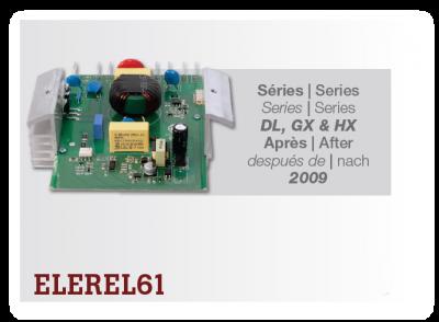 Elektronika vysávača CycloVac - regulácia výkonu ELEREL61