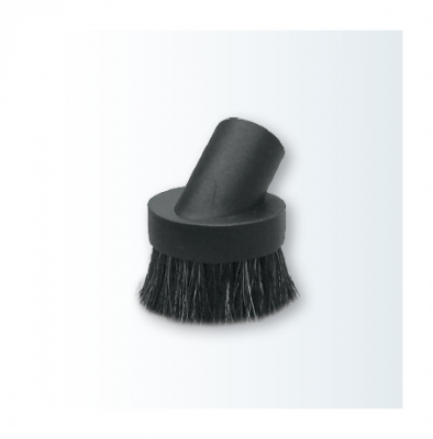 Nástavec na prach okrúhly, čierny