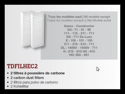 Carbon filter CycloVac TDFILHEC2