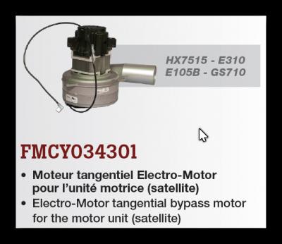 motor pre HX7515, E310, E105, GS710