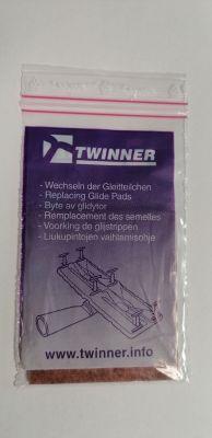 Náhradné klzné plošky TWINNER