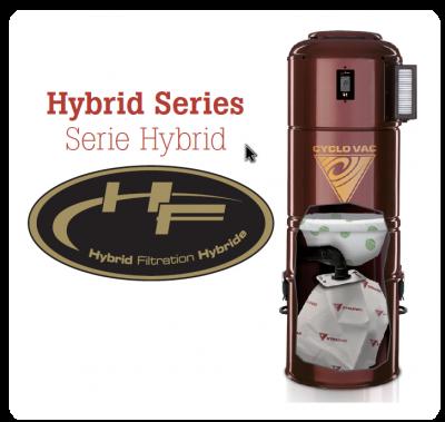 Hybridné - filter / vrecko