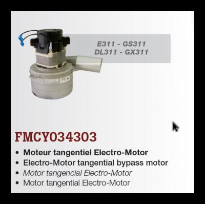 motor pre E311, GS311, DL311, GX311